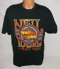 New listing New Vtg Neil Young with Crazy Horse 1996 World Concert T-Shirt Men's Xl Black
