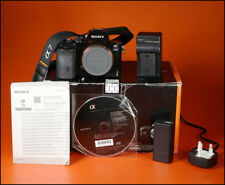 Cámara réflex digital sin espejo Sony A7s, Con Cargador, Batería, Manual Y Caja 10,031 disparos