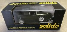 SOLIDO AGE d'Or 1/43 SCALE DIECAST VEHICLE - 1920's RENAULT 40 CV DARK GREEN