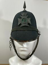 More details for victorian british army 5th weald of kent rifle volunteers helmet