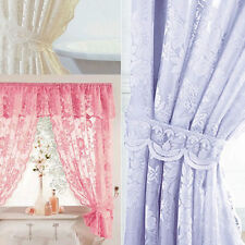 Polyester Lace Shower Curtains