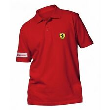 Polo Ferrari ROJO SANTANDER Talla XL -- MARCA OFICIAL - OFERTA