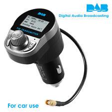 12-24V Car DAB Radio Receiver Adapter w/ FM Transmitter BT USB Charger Handsfree