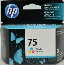 NEW Genuine HP #75 Color Ink Cartridge CB337WN