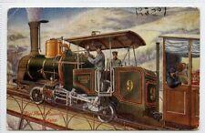(Lb7351-183) The Rigi Rack Railway, SWITZERLAND Used c1912, G,