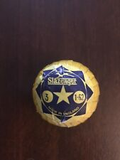 Awesome 1960's Slazenger Star Wrapped Golf Ball-Full label & cello!Very Scarce!