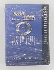 Star Trek The Next Generation Lettore-Schede Bianco Confine Edizione 60 Mappe :