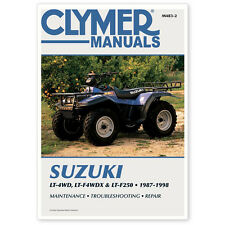SUZUKI LT250 250 4X4, KING QUAD 300 ATV REPAIR, SERVICE MANUAL 87-98, M483-2