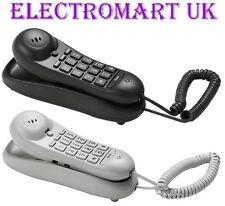 Slimline 2 PEZZI NUMERO DI TELEFONO TELEFONICA 10 memoria Scrivania Supporto a parete Indicatore LED
