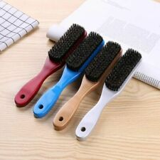 Boar Bristle Hair Brush Wood Handle Beard Comb Women Hairdressing Men Grooming