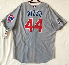 Authentic! Majestic 54 3XL, CHICAGO CUBS GRAY ANTHONY RIZZO ON FIELD JERSEY