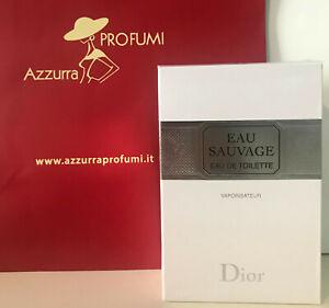 Profumo Christian Dior Eau Sauvage Eau De Toilette 200 ml Spray