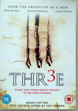 "TED DEKKER's ""THR3E"" DVD HORROR THRILLER TOP ZUSTAND"