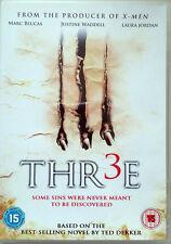 """TED DEKKER's """"THR3E"""" DVD HORROR THRILLER TOP ZUSTAND"""