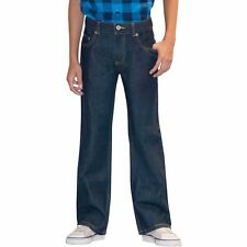 Faded Glory Boys Bootcut Jeans Rinse W Tint Size 4 Regular NEW