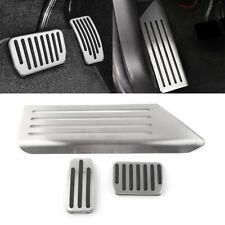 Fit Tesla Model 3 Accelerator Gas Fuel Brake Foot Rest Pedal Stainless Steel