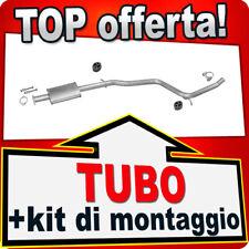 Silenziatore Centrale ALFA ROMEO 156 1.6 1.8 2.0 GT 1.8 Twin Spark Marmitta ALT