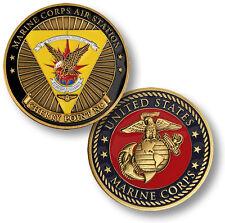 U.S. Marine Corps / Air Station Cherry Point, NC - USMC Bronze Challenge Coin