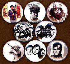 Beatnik 8 NEW button pin badge William S Burroughs Jack Kerouac Allen Ginsberg