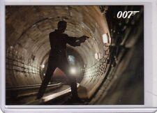 James Bond 2013 Autographs & Relic  P5 Promo UK Exlusive card