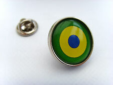 BRAZIL BRAZILIAN NAVAL AIR ROUNDEL LAPEL PIN BADGE GIFT