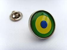 BRASILE BRASILIANA NAVALE AIR rotondi DISTINTIVO DI Lapel Pin REGALO