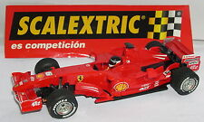 SCALEXTRIC FERRARI F1 2007 V8 #6 KIMI RÄIKKÖNEN ONLY SET MINT UNBOXED