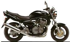 Suzuki retocar Pintura Gsf600 Gsxr600/750/1000 sv1000/650 Pearl Novedad Negro