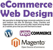 WEB DESIGN, WEBSITE DESIGN HOSTING, ECOMMERCE, MOBILE, SEO, EBAY, MAGENTO