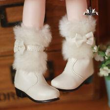 MSD Shoes 1/4 BJD Shoes Dollfie DREAM wool Snow Boots Dollmore Luts AOD DOD SOOM