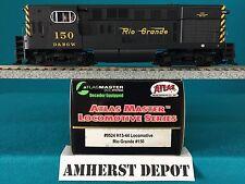 9524 Atlas HO  H15-44 Rio Grande DCC Locomotive  NIB