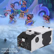 1500W nebbia del fumo Macchina ghiaccio secco Hanging Nebbia Effetto DJ fase