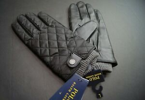 POLO RALPH LAUREN Men's Thinsulate Water-Repellent Quilted Gloves NEW NWT