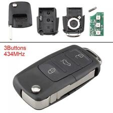 Car Remote Key Fob+ID48 Chip Replacement Fit for Volkswagen/VW/Golf/Caddy/Tiguan