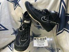 Nike Black Men Speed Sweep Wrestling Wrestle Shoes Sneaker Size 9 / High top❄️K1