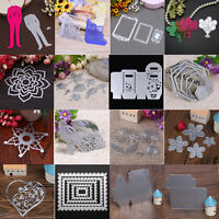 DIY Metal Cutting Dies Stencil Scrapbooking Embossing Paper Card Craft Die-Cut