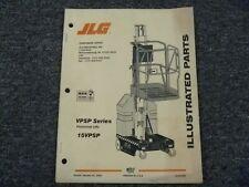Jlg 15vpsp Vertical Mast Lift Forklift Work Platform Parts Catalog Manual
