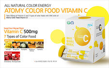 Vitamin C 30 Sticks & 7 Color Food Vitamin C Mango Flavor Powder 4 Pytochemicals
