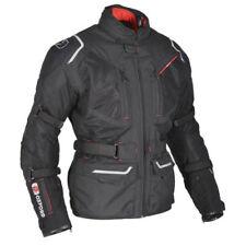 Blousons noirs en nylon coude pour motocyclette