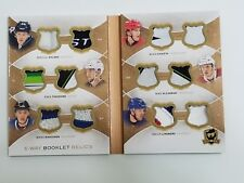2015-16 the cup hockey 6 way booklet relics 01/12 rookie patches