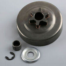 """Clutch Drum Sprocket 3/8"""" 6T Washer E-Clips Kit For STIHL MS170 180 Chainsaws"""