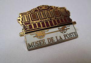 Pin's musée de la poste - administration des postes EGF signé musée de la poste