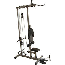 Valor Fitness CB-12 Plate Loading Lat Pull Down Total Body Home Gym New