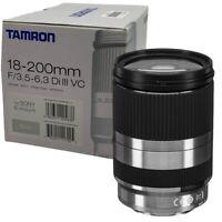 New TAMRON 18-200mm f3.5 - 6.3 Di III Lens SILVER (B011SESL) Sony E Mount APS-C