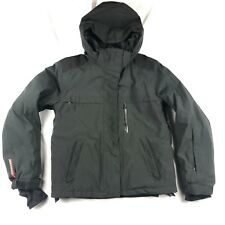 e724a30967 Prada Women Size 42 Black GoreTex Full Zip Technical Ski Jacket Puffer Coat  Snow
