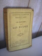 Badin : un parisien chez les Russes 1883