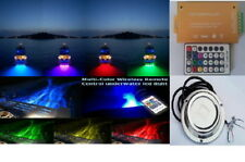 Wireless Remote ,100W RGB Yacht Boat Underwater led Light,RGB Multi Color Contr