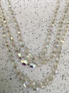 Ladies Retro Style Triple Layer Necklace