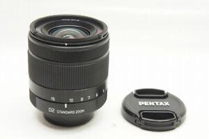PENTAX 02 STANDARD ZOOM 5-15mm F2.8-4.5 AF Lens Black for Q Series #210724e