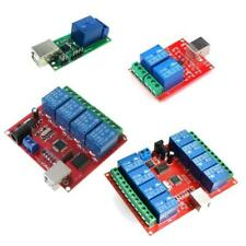 1 2 4 8 Channel Usb Relay Control Switch Computer Control For Intelligent Homes